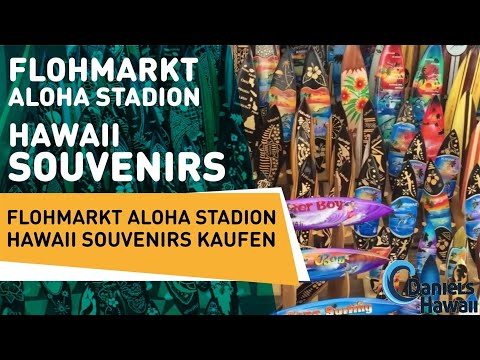 Flea market aloha stadium Hawaii souvenirs - Flohmarkt Aloha Stadion Hawaii Souvenirs kaufen