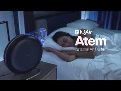 IQAir Atem Personal Air Purifier Travel Commercial