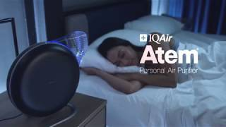IQAir Atem Personal Air Purifier Travel Commercial (French subtitle)