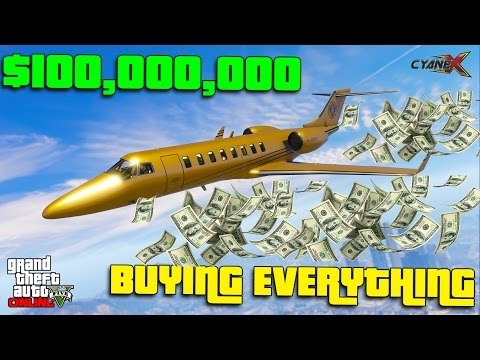GTA 5 $100,000,000 SPENDING SPREE  - BACK FROM BAN PARTY!!