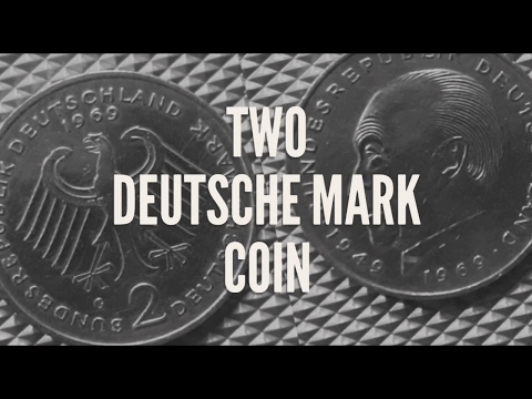 Rare 2 Deutsche Mark Coin of Germany