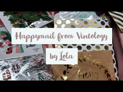 Winnings And Happymail| From Vintology By Lola