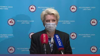 Брифинг Ольги Балабкиной об эпидобстановке в Якутии на 22 января