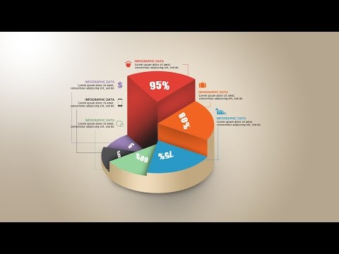 Photoshop Tutorial Graphic Design | Infographic Circle Graph