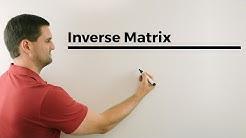 Inverse Matrix bestimmen (Simultanverfahren,3X3-Matrix) | Mathe by Daniel Jung