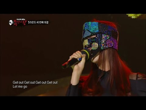 【TVPP】Solji(EXID) - Don't Touch Me, 솔지(이엑스아이디) - 손대지마 @ King of Masked Singer