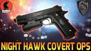 RWA NIGHT HAWK COVERT OPS CO2 PISTOL REVIEW- SPARTAN117GW
