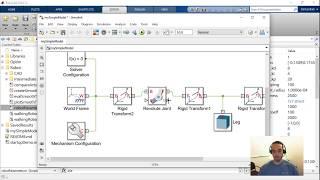 Walking Robots, Part 1: Modeling and Simulation - MATLAB and Simulink Robotics Arena