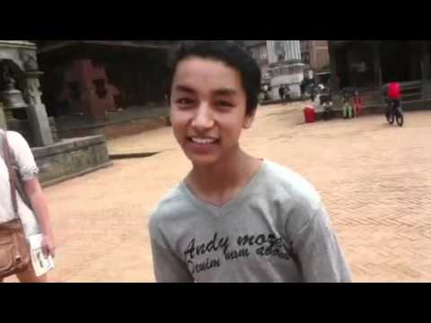 World's Cutest Tour Guide - Bhaktapur (Nepal)