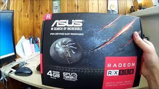 Майнинг на Asus RX550 4GB