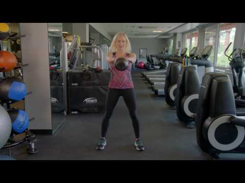 How to Properly Do a Kettlebell Swing, Catch, Squat