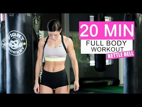 Full Body KettleBell Workout - Lose weight, tighten and tone FAST!