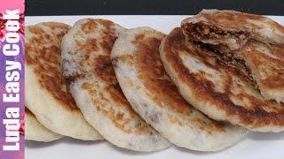 АХ! ПИРОЖКИ! Корейские ХОТТОК ЛЕПЕШКИ с Начинкой рецепт Вкусная УЛИЧНАЯ ЕДА | Sweet pancakes HOTTEOK