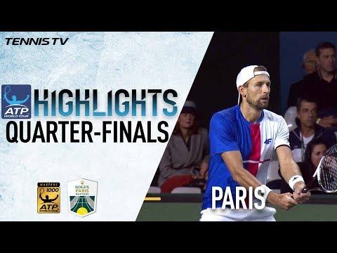Doubles Highlights: Kubot/Melo Beat Lopez/Lopez At Paris 2017