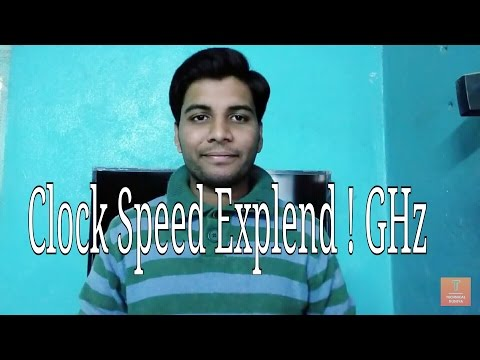 [Hindi] Processor Clock Speed Explained | GHz etc.