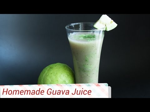 Best Guava/ Peru/ Amrud Juice Recipe - Refreshing drink | Homemade Juice