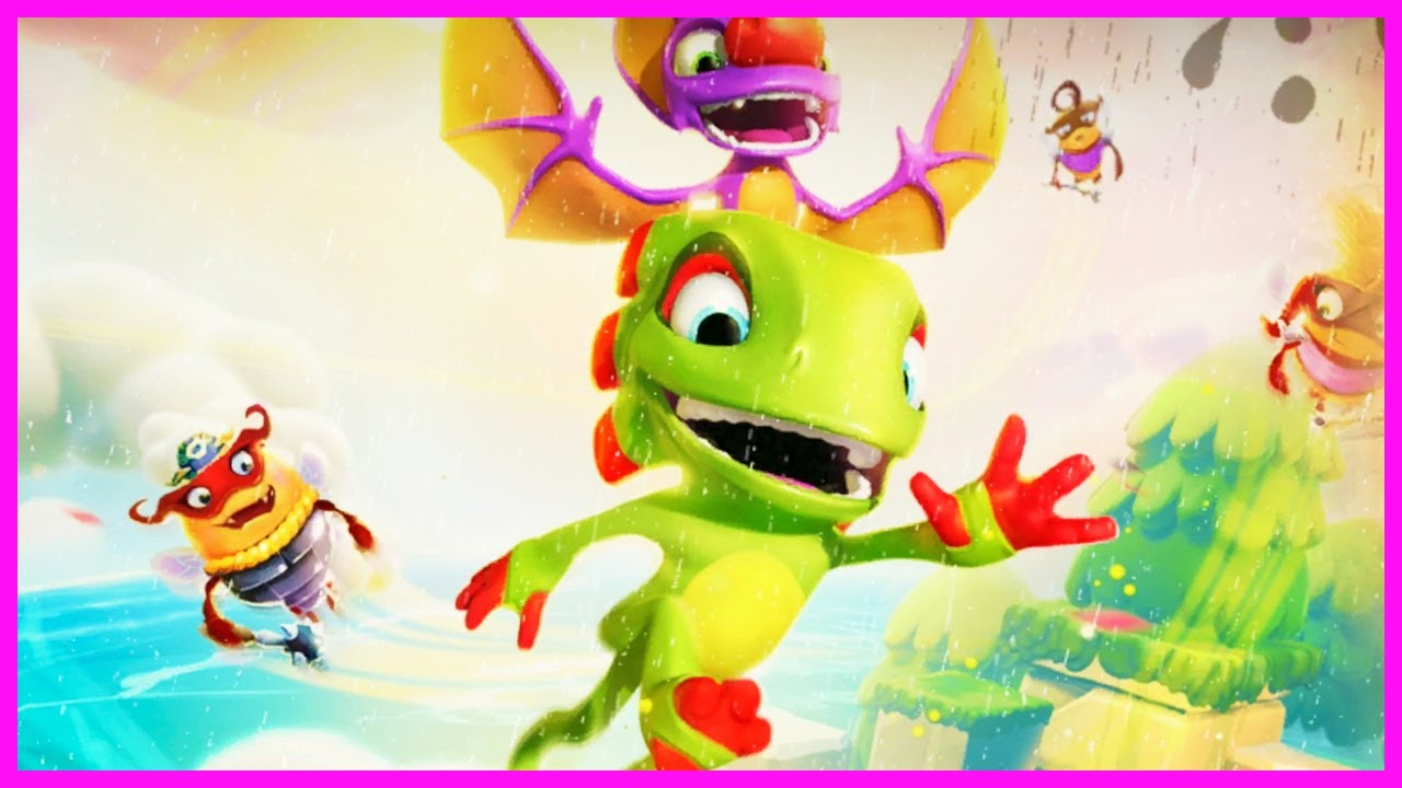 14 λεπτά από το Yooka-Laylee and the Impossible Lair Gameplay