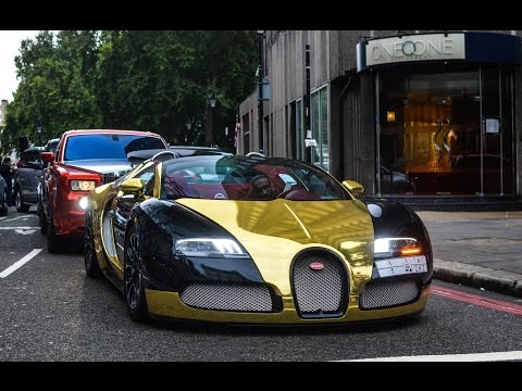 Rich kids of Arabia bring million pound cars to London!