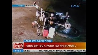 UB: Grocery boy, patay sa pamamaril