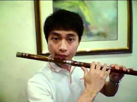 Comparism of D key Qudi Chinese Bamboo Flute Dizi