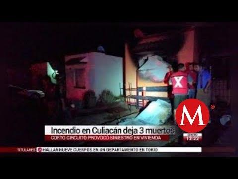 Incendio En Culiacán Deja 3 Muertos