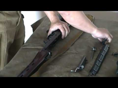 Real Tigr SVD Dragunov 7.62x54R Russian Sniper Rifle Disassembly and Reassembly .MP4