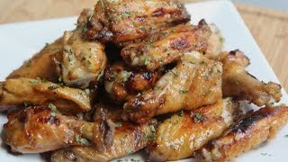 Tangy Baked Chicken Wings Recipe