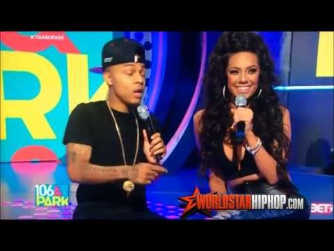 Bow Wow & Erica Mena Kiss - Bow Wow & Tyra Banks Kiss 106 & Park