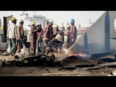 How China Upended Life at India's Ship-Recycling Yards