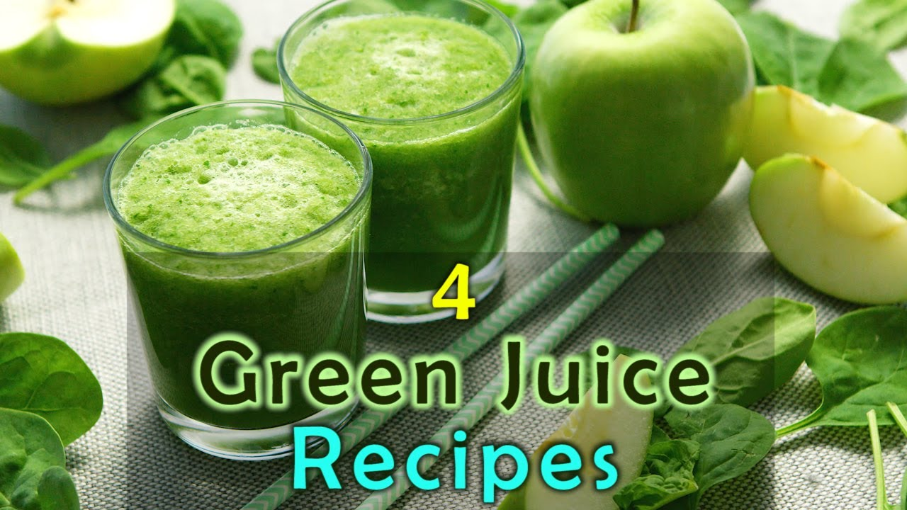 4 HEALTHY GREEN JUICE RECIPES FOR WEIGHT LOSS, BELLY FAT ...