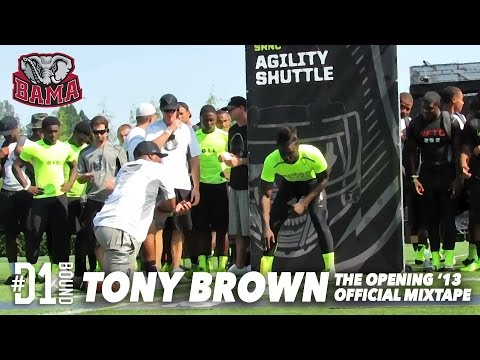 Tony Brown: The Opening Highlights (Nike Campus) Alabama DB Highlights - CollegeLevelAthletes.com