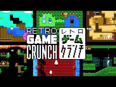 Retro Game Crunch is a frenetic love letter to classic gaming