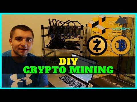 How To Build a Cryptocurrency GPU Mining Rig that is Upgradeable (1070 TI)