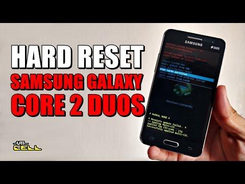 Hard Reset no Samsung Galaxy Core 2 Duos (SM G355) #UTICell