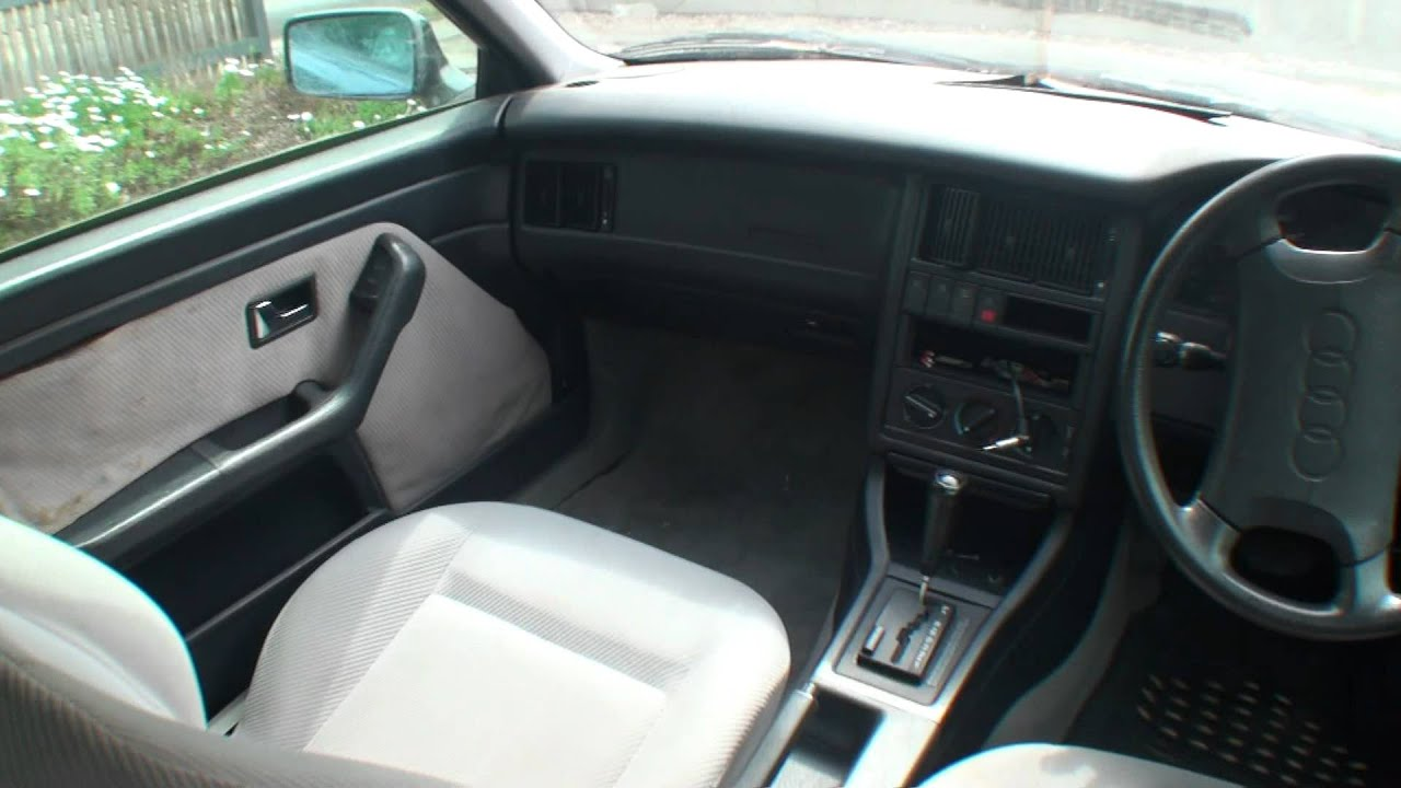 audi 80 1994 interior youtube. Black Bedroom Furniture Sets. Home Design Ideas