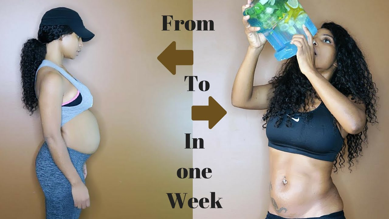 how to get rid of belly fat in one week