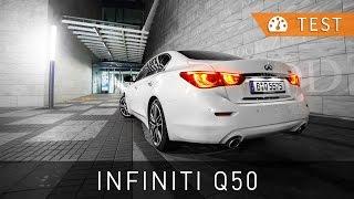 2015 infiniti q50 2 2d sport tech test pl review eng sub   project automotive