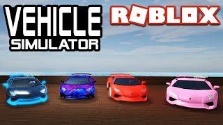 RACING SUPERCARS w/Seniac, Locus, e DigDug em simulador de veículo! | Roblox