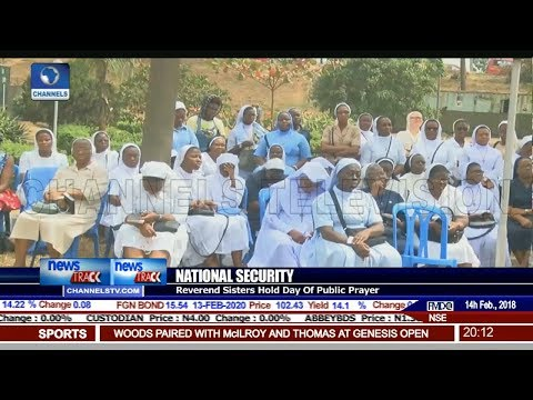 Reverend Sisters Hold Day Of Prayer For National Security