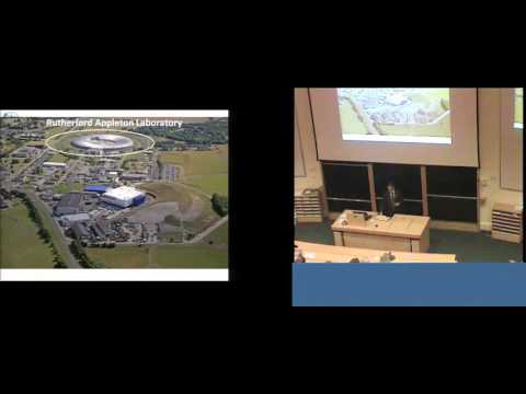 LASER FUSION LECTURE BY PROF. PETER NORREYS