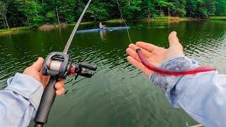 Winning CASH For BIG FISH Caught In Jon Boat Tournament! Deep Summer Swimbaits