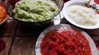 Икра из зелёных томатов. Попробовала новый рецепт . Предлагаю попробовать вам.