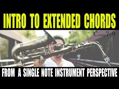 INTRO TO EXTENDED CHORDS - 9ths, 11ths & 13ths