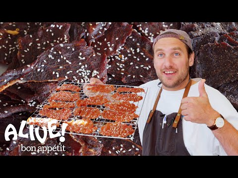 Brad Makes Beef Jerky | It's Alive | Bon Appétit