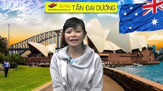Chia sẻ ước mơ du học Úc của học sinh Thanh Bình