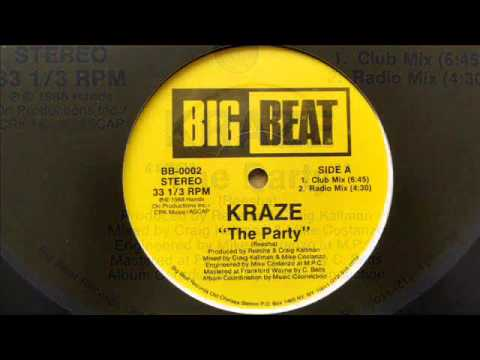 kraze - the party (12'' club mix)