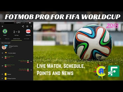 Fotmob pro apps for fifa football worldcup 2018 live match, schedule, points and news | app care bd