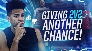 Gave 2v2 another chance, and this happened! nba 2k18 mycareer gameplay