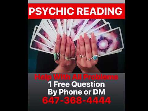 Psychic Reading 1 Free Question Help With All Problems