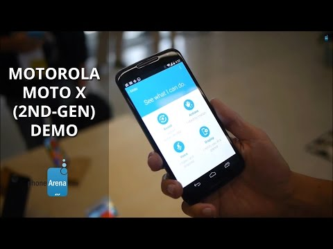 Motorola Moto X (2nd-gen) demo